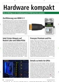 Titelbild der Ausgabe 3/2020 von Hardware kompakt. Zeitschriften als Abo oder epaper bei United Kiosk online kaufen.