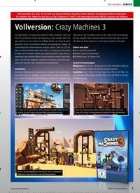 Titelbild der Ausgabe 4/2020 von Vollversion: Crazy Machines 3. Zeitschriften als Abo oder epaper bei United Kiosk online kaufen.