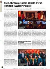 Titelbild der Ausgabe 9/2019 von Die Lehren aus dem World-First- Rennen (Ewiger Palast). Zeitschriften als Abo oder epaper bei United Kiosk online kaufen.