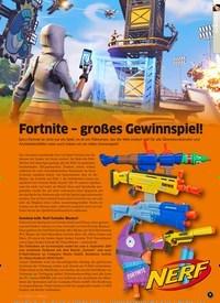 Titelbild der Ausgabe 9/2019 von Fortnite – großes Gewinnspiel!. Zeitschriften als Abo oder epaper bei United Kiosk online kaufen.