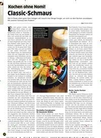 Titelbild der Ausgabe 9/2019 von Kochen ohne Nomi! Classic-Schmaus. Zeitschriften als Abo oder epaper bei United Kiosk online kaufen.