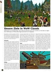 Titelbild der Ausgabe 10/2019 von Unsere Ziele in WoW Classic. Zeitschriften als Abo oder epaper bei United Kiosk online kaufen.