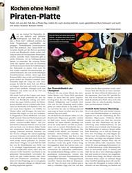 Titelbild der Ausgabe 10/2019 von Kochen ohne Nomi! Piraten-Platte. Zeitschriften als Abo oder epaper bei United Kiosk online kaufen.