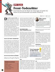 Titelbild der Ausgabe 10/2019 von DPS-Guide: Frost-Todesritter. Zeitschriften als Abo oder epaper bei United Kiosk online kaufen.