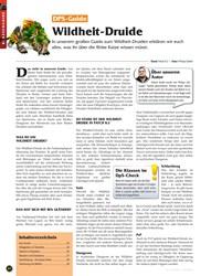 Titelbild der Ausgabe 10/2019 von DPS-Guide: Wildheit-Druide. Zeitschriften als Abo oder epaper bei United Kiosk online kaufen.