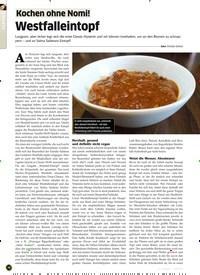 Titelbild der Ausgabe 11/2019 von Westfalleintopf. Zeitschriften als Abo oder epaper bei United Kiosk online kaufen.