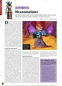 Titelbild der Ausgabe 11/2019 von Classic-Guide: Hexenmeister. Zeitschriften als Abo oder epaper bei United Kiosk online kaufen.