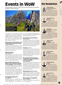 Titelbild der Ausgabe 12/2019 von Events in WoW. Zeitschriften als Abo oder epaper bei United Kiosk online kaufen.