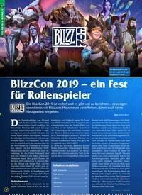 Titelbild der Ausgabe 12/2019 von BlizzCon 2019 – ein Fest für Rollenspieler. Zeitschriften als Abo oder epaper bei United Kiosk online kaufen.