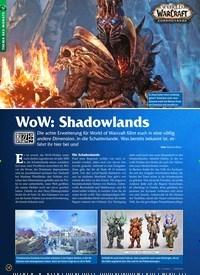 Titelbild der Ausgabe 12/2019 von WoW: Shadowlands. Zeitschriften als Abo oder epaper bei United Kiosk online kaufen.