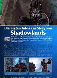 Titelbild der Ausgabe 12/2019 von Die ersten Infos zur Story von Shadowlands. Zeitschriften als Abo oder epaper bei United Kiosk online kaufen.