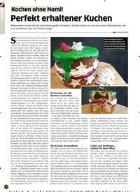 Titelbild der Ausgabe 1/2020 von Kochen ohne Nomi!: Perfekt erhaltener Kuchen. Zeitschriften als Abo oder epaper bei United Kiosk online kaufen.