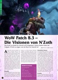 Titelbild der Ausgabe 1/2020 von WoW Patch 8.3 – Die Visionen von N'Zoth. Zeitschriften als Abo oder epaper bei United Kiosk online kaufen.