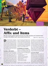 Titelbild der Ausgabe 1/2020 von Verderbt – Affix und Items. Zeitschriften als Abo oder epaper bei United Kiosk online kaufen.