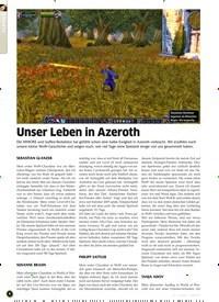 Titelbild der Ausgabe 3/2020 von Unser Leben in Azeroth. Zeitschriften als Abo oder epaper bei United Kiosk online kaufen.