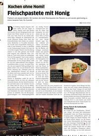 Titelbild der Ausgabe 3/2020 von Fleischpastete mit Honig. Zeitschriften als Abo oder epaper bei United Kiosk online kaufen.