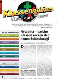 Titelbild der Ausgabe 3/2020 von Ny'alotha – welche Klassen rocken den neuen Schlachtzug?. Zeitschriften als Abo oder epaper bei United Kiosk online kaufen.