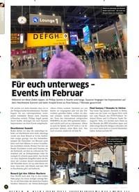 Titelbild der Ausgabe 4/2020 von Für euch unterwegs - Events im Februar. Zeitschriften als Abo oder epaper bei United Kiosk online kaufen.