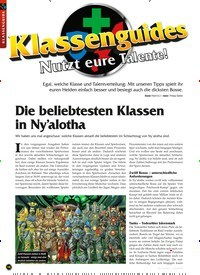 Titelbild der Ausgabe 4/2020 von Die beliebtesten Klassen in Ny'alotha. Zeitschriften als Abo oder epaper bei United Kiosk online kaufen.