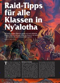 Titelbild der Ausgabe 4/2020 von Raid-Tipps für alle Klassen in Ny'alotha. Zeitschriften als Abo oder epaper bei United Kiosk online kaufen.