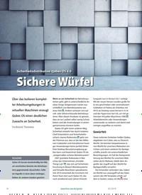 Titelbild der Ausgabe 2/2019 von Sicherheitsdistribution Qubes OS 4.0: Sichere Würfel. Zeitschriften als Abo oder epaper bei United Kiosk online kaufen.