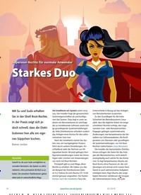 Titelbild der Ausgabe 2/2019 von Superuser-Rechte für normale Anwender: Starkes Duo. Zeitschriften als Abo oder epaper bei United Kiosk online kaufen.