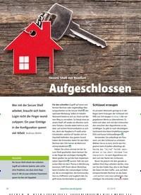 Titelbild der Ausgabe 2/2019 von Secure Shell mit Komfort: Aufgeschlossen. Zeitschriften als Abo oder epaper bei United Kiosk online kaufen.