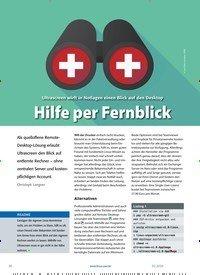 Titelbild der Ausgabe 2/2020 von Ultrascreen: Hilfe per Fernblick. Zeitschriften als Abo oder epaper bei United Kiosk online kaufen.