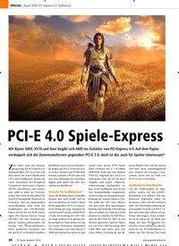 Titelbild der Ausgabe 9/2019 von Ryzen 3000: PCI-Express 4.0: Grafikkarte: PCI-E 4.0 Spiele-Express. Zeitschriften als Abo oder epaper bei United Kiosk online kaufen.