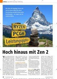 Titelbild der Ausgabe 9/2019 von Ryzen 3000: Overclocking + RAM-Tuning: Hoch hinaus mit Zen 2. Zeitschriften als Abo oder epaper bei United Kiosk online kaufen.