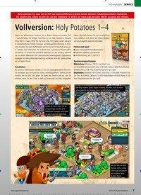 Titelbild der Ausgabe 2/2020 von Vollversion: Holy Potatoes 1–4. Zeitschriften als Abo oder epaper bei United Kiosk online kaufen.