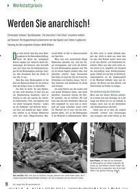 Titelbild der Ausgabe 80/2019 von Werden Sie anarchisch!. Zeitschriften als Abo oder epaper bei United Kiosk online kaufen.