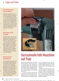 Titelbild der Ausgabe 81/2019 von Gurtschnalle hält Maschine auf Trab. Zeitschriften als Abo oder epaper bei United Kiosk online kaufen.