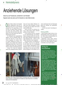 Titelbild der Ausgabe 87/2020 von Anziehende Lösungen. Zeitschriften als Abo oder epaper bei United Kiosk online kaufen.