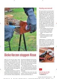 Titelbild der Ausgabe 88/2020 von Dicke Kerzen stoppen Risse. Zeitschriften als Abo oder epaper bei United Kiosk online kaufen.