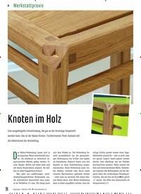 Titelbild der Ausgabe 88/2020 von Knoten im Holz. Zeitschriften als Abo oder epaper bei United Kiosk online kaufen.