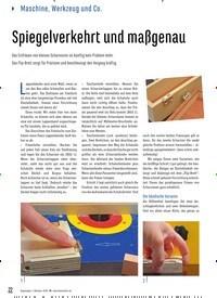 Titelbild der Ausgabe 88/2020 von Spiegelverkehrt und maßgenau. Zeitschriften als Abo oder epaper bei United Kiosk online kaufen.