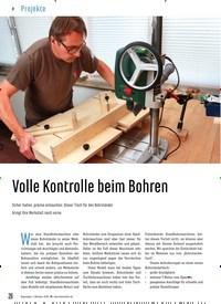 Titelbild der Ausgabe 88/2020 von Volle Kontrolle beim Bohren. Zeitschriften als Abo oder epaper bei United Kiosk online kaufen.