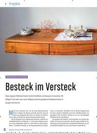 Titelbild der Ausgabe 88/2020 von Besteckschrank aus Kirschholz: Besteck im Versteck. Zeitschriften als Abo oder epaper bei United Kiosk online kaufen.