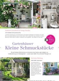 Titelbild der Ausgabe 3/2019 von Gartenhäuser Kleine Schmuckstücke. Zeitschriften als Abo oder epaper bei United Kiosk online kaufen.
