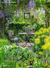 Titelbild der Ausgabe 4/2019 von Ein Plätzchen im Grünen. Zeitschriften als Abo oder epaper bei United Kiosk online kaufen.