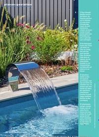 Titelbild der Ausgabe 6/2019 von Pools und Schwimmteiche Badespaß im Garten. Zeitschriften als Abo oder epaper bei United Kiosk online kaufen.