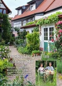 Titelbild der Ausgabe 6/2019 von Versteckter Hof im Cottage-Stil. Zeitschriften als Abo oder epaper bei United Kiosk online kaufen.