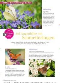 Titelbild der Ausgabe 7/2019 von Auf Augenhöhe mit Schmetterlingen. Zeitschriften als Abo oder epaper bei United Kiosk online kaufen.