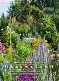 Titelbild der Ausgabe 7/2019 von Blütenreiches Insektenparadies Willkommen im Landidyll. Zeitschriften als Abo oder epaper bei United Kiosk online kaufen.