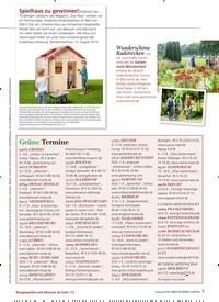 Titelbild der Ausgabe 8/2019 von Spielhaus zu gewinnen!. Zeitschriften als Abo oder epaper bei United Kiosk online kaufen.