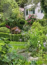 Titelbild der Ausgabe 8/2019 von Schöne Stunden im Landhaus-Idyll. Zeitschriften als Abo oder epaper bei United Kiosk online kaufen.