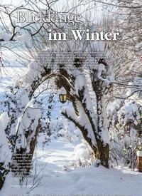 Titelbild der Ausgabe 6/2018 von Blickfänge im Winter. Zeitschriften als Abo oder epaper bei United Kiosk online kaufen.