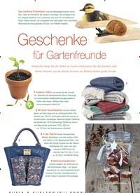 Titelbild der Ausgabe 6/2018 von Geschenke für Gartenfreunde. Zeitschriften als Abo oder epaper bei United Kiosk online kaufen.