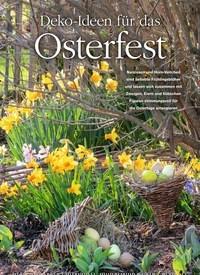 Titelbild der Ausgabe 2/2019 von Deko-Ideen für das Osterfest. Zeitschriften als Abo oder epaper bei United Kiosk online kaufen.